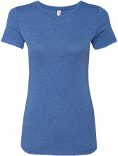 Wayne Elementary School Blue Devils Next Level Ladies Triblend T-Shirt