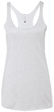 St. Francis Indians Football Next Level Ladies' Triblend Racerback Tank