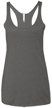 Breast Cancer Next Level Ladies' Triblend Racerback Tank
