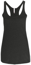 Albert Gallatin North MS Colonials Next Level Ladies' Triblend Racerback Tank