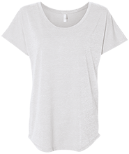 Millburn Middle School School Next Level Ladies Triblend Dolman Sleeve