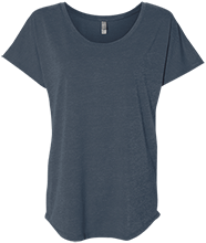 Parkway Christian Academy School Next Level Ladies Triblend Dolman Sleeve