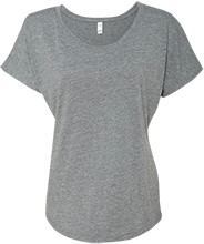 Giddings Intermediate School School Next Level Ladies Triblend Dolman Sleeve