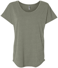 The Pen Ryn School School Next Level Ladies Triblend Dolman Sleeve