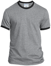 Basketball Personalized Ringer T-Shirt