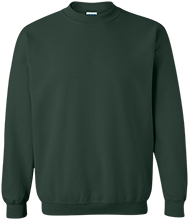 Greenfield High School Green Wave Printed Crewneck Pullover Sweatshirt  8 oz
