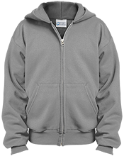 OOB Middle School School Youth Embroidered Full Zip Hoodie