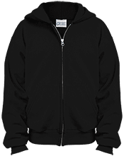 Rockville HS Rams Youth Embroidered Full Zip Hoodie
