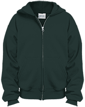 St. Francis Indians Football Youth Embroidered Full Zip Hoodie