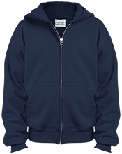 Boyd Elementary School Boyd Bobcats Youth Embroidered Full Zip Hoodie