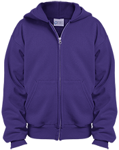 Sherrard High School Tigers Youth Embroidered Full Zip Hoodie