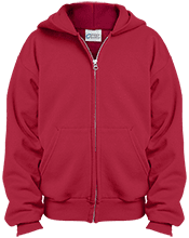 Newbern Elementary School Knights Youth Embroidered Full Zip Hoodie