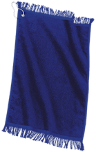 Shoals High School Jug Rox Custom Embroidered Grommeted Finger Tip Towel