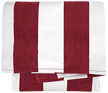 Altoona High School Railroaders Cabana Stripe Beach Towel