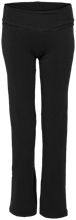 Saint Adalbert School Black Hawks Ladies Yoga Pant
