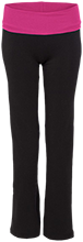 Ella C Pittman Elementary School Pandas Ladies Yoga Pant