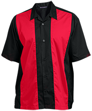 Hulett Public High School Red Devils Mens Custom Embroidered Shirt