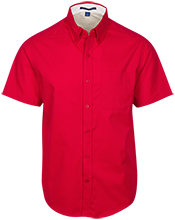 Hulett Public High School Red Devils Men's Customized Dress Shirt