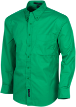 Cloverdale Junior High School Eagles Mens Custom Long Sleeve Dress Shirt