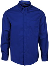 Shore Regional High School Blue Devils Mens Custom Long Sleeve Dress Shirt