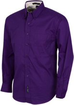 Downers Grove North High School Trojans Mens Custom Long Sleeve Dress Shirt
