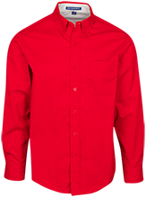 Shaw High School Cardinals Mens Custom Long Sleeve Dress Shirt