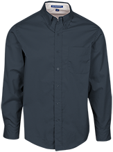 Milliones Middle School. School Mens Custom Long Sleeve Dress Shirt