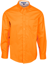 Osbourn Park HS Yellow Jackets Mens Custom Long Sleeve Dress Shirt