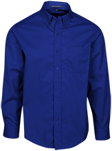 Islesboro Eagles Athletics Mens Custom Long Sleeve Dress Shirt
