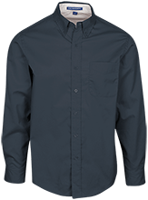 Chesapeake Christian Academy School Mens Custom Long Sleeve Dress Shirt