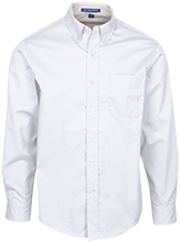 Highview Elementary School Hawks Mens Custom Long Sleeve Dress Shirt