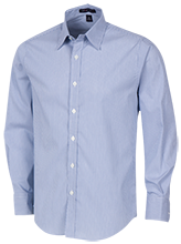 Laupahoehoe High School Seasiders Fine Stripe Stretch Poplin Shirt