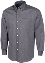 The Philadelphia School School Men's Long Sleeve Oxford Shirt