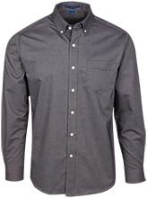 Bronzeville Academy School Men's Long Sleeve Oxford Shirt