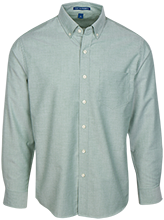 Hempstead High School Mustangs Men's Long Sleeve Oxford Shirt