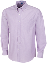 Shawswick Middle School Farmers Men's Long Sleeve Oxford Shirt