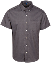 Academy For Technology & The Classics School Men's Short Sleeve Oxford Shirt
