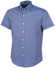 Laupahoehoe High School Seasiders Men's Short Sleeve Oxford Shirt