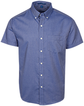 Allegheny Academy School Men's Short Sleeve Oxford Shirt