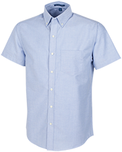 Fair Lawn High School Cutters Men's Short Sleeve Oxford Shirt