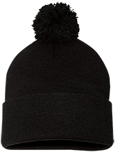 Our Lady Mount Carmel School Falcons Pom Pom Knit Cap