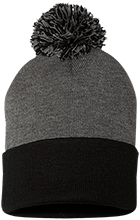 Excel High School School Pom Pom Knit Cap