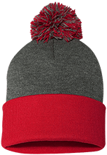 Masconomet Regional Junior Senior High Chieftians Pom Pom Knit Cap