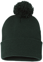 Rancho High Alumni Rams Pom Pom Knit Cap