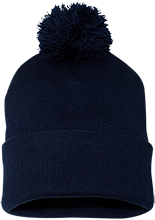 Brookfield East High School Spartans Pom Pom Knit Cap