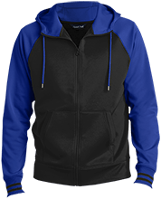 Kingston Elementary School Owls Men's Sport-Wick® Varsity Fleece Full-Zip Hooded Jacket