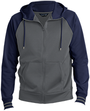 Los Robles Academy Knights Men's Sport-Wick® Varsity Fleece Full-Zip Hooded Jacket