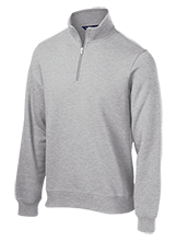 Straley Elementary School Stallions Quarter-Zip Embroidered Sweatshirt