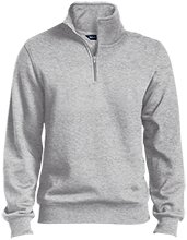 Accounting Quarter-Zip Embroidered Sweatshirt