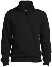 Logan Elementary School Leopards Quarter-Zip Embroidered Sweatshirt